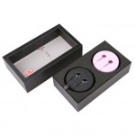 1More Crystal In-Ear Headphones Package Pink + Black