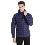 Перьевая куртка 90 GO FUN Feather coat Men Blue L