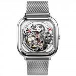 Часы CIGA Design Full Hollow Mechanical Watches Silver
