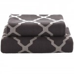Tonight Сotton Knitted Blanket Gray 130x180