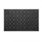 Придверний коврик Xiaomi 77+ Dustproof Rectangular Floor Mat 75x45cm Pineapple Pattern Blue Gray