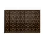 Придверный коврик Xiaomi 77+ Dustproof Rectangular Floor Mat 75x45cm Pineapple Pattern Brown