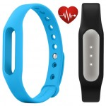 Фитнес браслет Xiaomi Mi Band Pulse Black + ремешок Mi Band Strap Blue