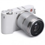 Беззеркальная цифровая камера Xiaomi Yi M1 Mirrorless Digital Camera Prime Lens Chinese Version White