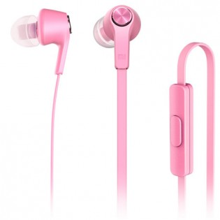 Вакуумные наушники Xiaomi Mi Piston Youth Edition Colorful Version Pink